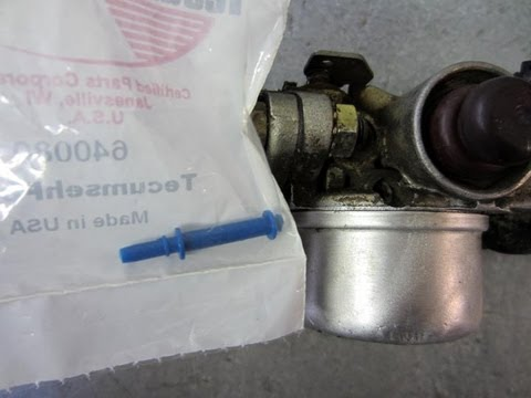 How To Remove The Emulsion Tube From A Tecumseh Carburetor