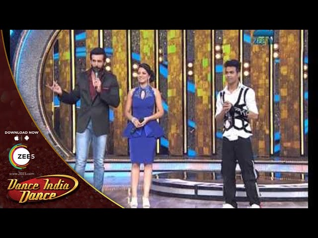 Dance India Dance Season 4  February 16, 2014 - Shyam's performance