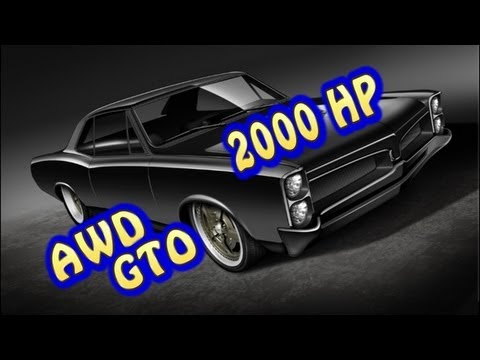 AWD 2000 HP Pontiac GTO, Pt. 2.  From Nelson Supercars & Nelson Racing Engines.