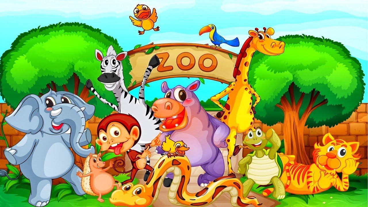 ingles para ni u00f1os animales del zool u00f3gico video zoo animal clipart free zoo animal clipart free