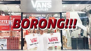 BORONG VANS DISKON!! + VLOG