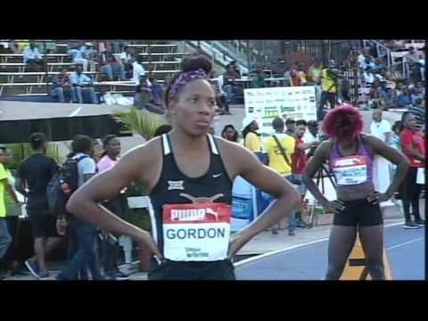 400m final women  Jamaica Olympics Trials