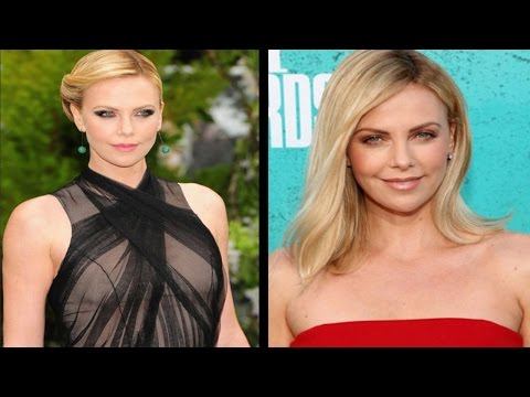 Charlize Theron loves being old!
