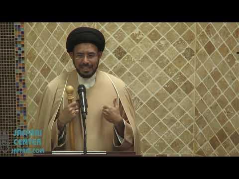 "Jumah Khutbah - ""Benefits of Good Akhlaq"" 11/30/2018 Maulana Syed Hussain Ali Nawab"