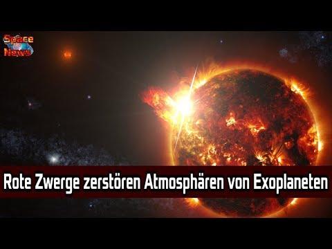 Wenn Rote Zwerge exoplanetarische Atmosphären zerstören [Space News]