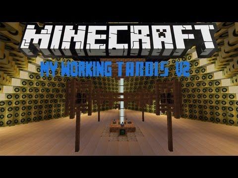 Minecraft: My Working TARDIS V2 NO MODS
