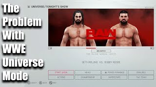The Problem With WWE Universe Mode