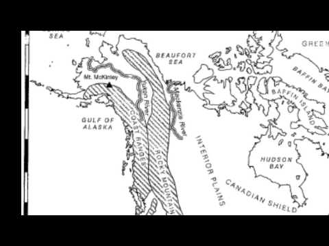 Daily Geography Week 13 A Physical Map North America
