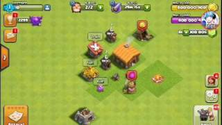 [clash of clans] ep1 เเคสเเบบโกง