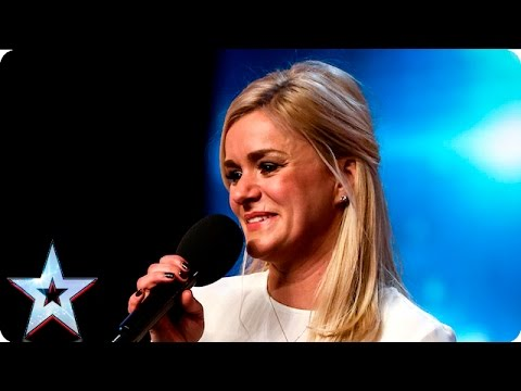 Rachael delivers a faultless audition   Auditions Week 5   Britain's Got Talent 2016