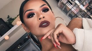 Brown Fall Makeup Tutorial | Sarahy Delarosa