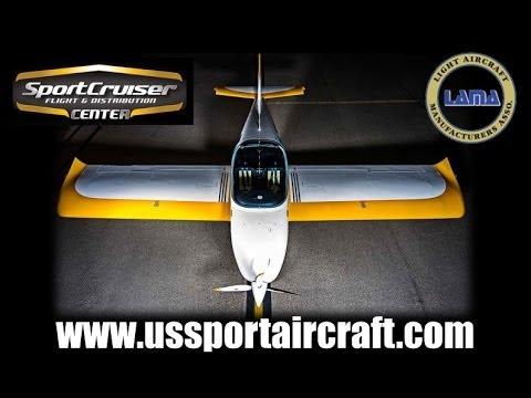 SportCruiser light sport aircraft, aircraft review part 1.