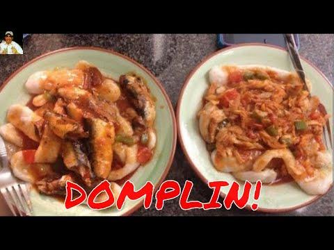 Recetas sencillas Domplin (Comida Dominicana)