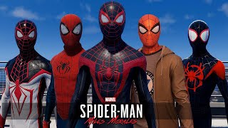 Spider-Man: Miles Morales | All Suits & Costumes (PS5 Gameplay)