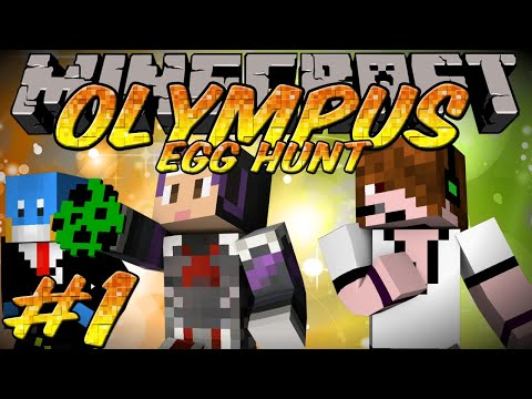 Minecraft Olympus Friendly Egg Hunt Episode 1 - Pokemon Gotta Reference 'Em All