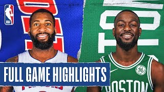 PISTONS at CELTICS | FULL GAME HIGHLIGHTS | January 15, 2020