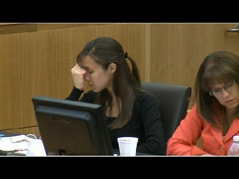 Jodi Arias Reaction To Hearing Verdict (Found Guilty of First Degree