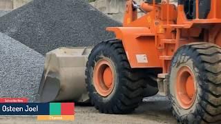 Amazing Truck Sasur | Sasur delivery stone compilation 2018 | Osteen Joel #1