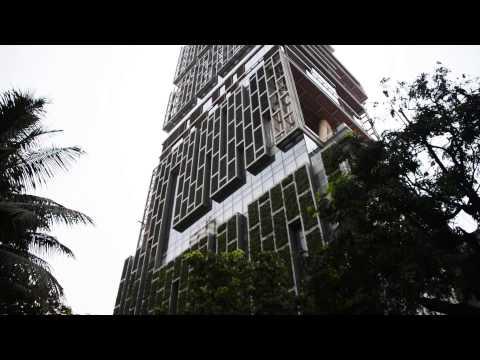 Mumbai Bombay India Ambani Antilia