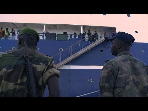 Senegal seizes Russian ship for illegally fishing its waters