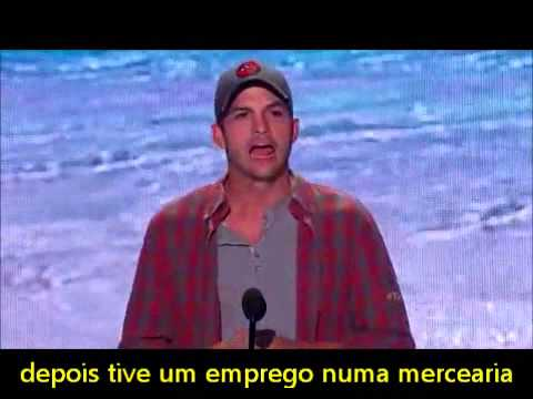 Ashton Kutcher e as 3 lições legendado