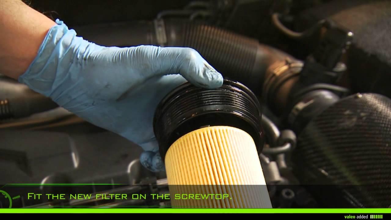 Valeo Oil Filter Fitment Of Oil Filter Element Type