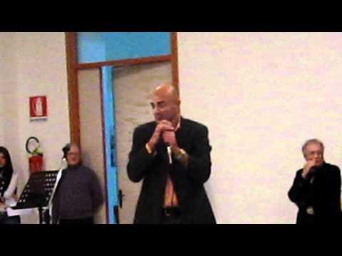 Maurilio Savona recita poesia religiosa di Renzino Barbera in dialetto siciliano