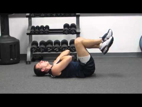 How To Crunch Properly | Abdominal Crunches Exercise for a Flat Stomach Crunches | HASfit