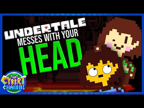 WHY WE LOVE UNDERTALE: THE HIDDEN GAMEPLAY - (THAT CYBERT CHANNEL REVIEW)