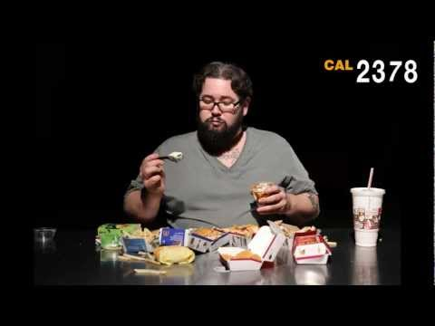 FAT MAN EATS OVER 6000 CALORIES (TIME-LAPSE) BEING FAT SUCKS