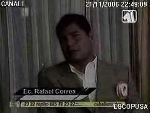 Rafael Correa entrevistado por Marián Sabaté, Parte 2