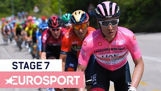Giro d'Italia 2019 | Stage 7 Highlights | Cycling | Eurosport