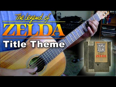 0 Legend of Zelda (Title)   Classical Guitar Tabs