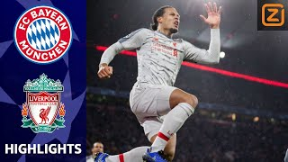 Virgil van Dijk = ON FIRE 🔥| Bayern München vs Liverpool | Champions League 2018/19 | Samenvatting