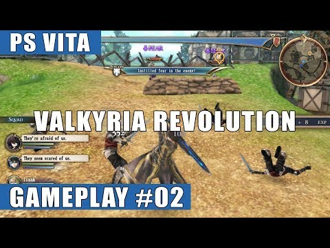 Valkyria Revolution English PS Vita Gameplay #2 (Prologue: Outbreak of War)