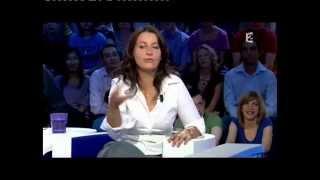 Cécile Duflot - On n'est pas couché 5 septembre 2009 #ONPC