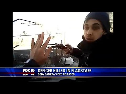 Body cam captures moments leading up to killing of Ariz. cop