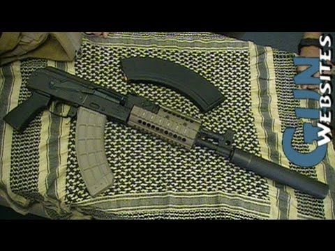 Draco Suppressed AK47 Pistol