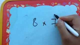 طريقة رائعة وذكية لحفظ جدول الضرب بسهولة تامة - شاهد المقطع