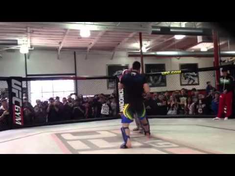 Lyoto Machida Hits the Pads at UFC 157 Open Workouts