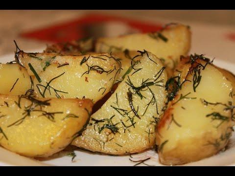 Молодой картофель в мультиварке.