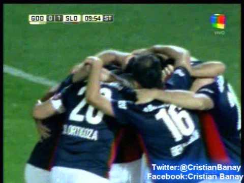 Godoy Cruz 0 San Lorenzo 1 (Relato Hernan Rio)  Torneo Primera Division 2016
