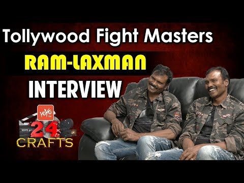 Tollywood Fight Masters Ram - Laxman Exclusive Interview | YOYO TV 24 CRAFTS | YOYO TV Channel