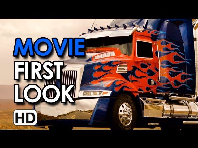 Transformers 4 (2014) - Set Photos Optimus Prime and Two New Autobots