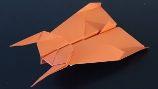 How to make a flying batman paper plane