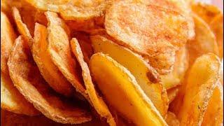 எண்ணெய் குடிக்காத மொறு மொறு உருளைக்கிழங்கு சிப்ஸ் | Urulai Kizhangu Chips in Tamil | Piyas Kitchen