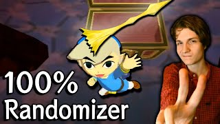 Wind Waker 100% Randomizer (ALL SETTINGS RANDOMIZER) Race vs. Gymnast86 in 7:56:16