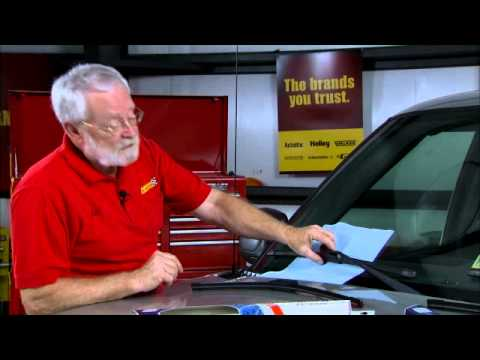 how to put on windshield wipers
