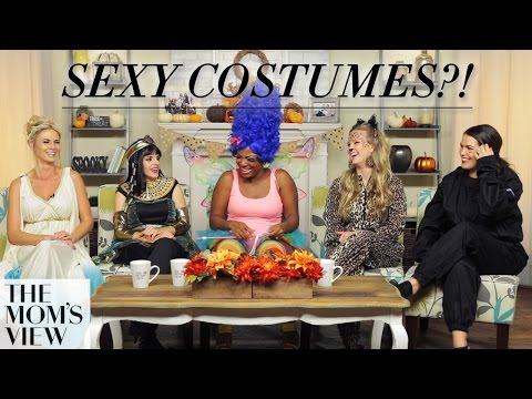 """sexy"" Vs. ""modest"" Halloween Costumes On The Mom's View video"