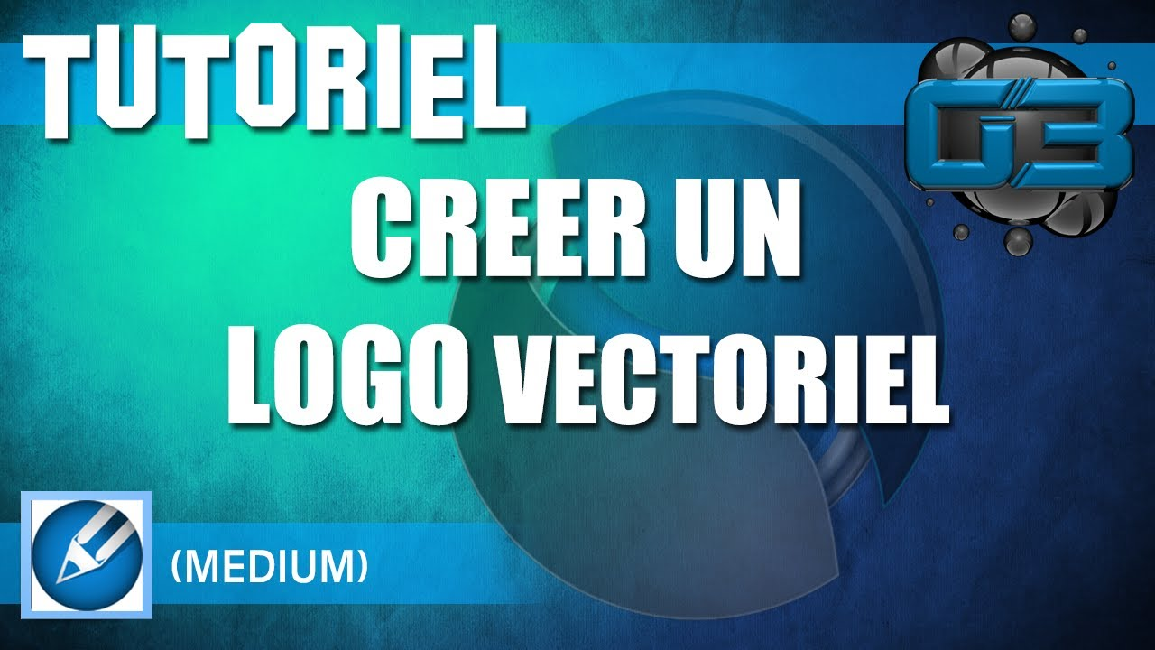 tutoriel  creer un logo vectoriel